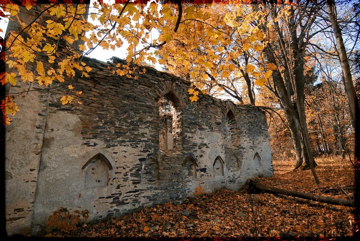 Tip na podzimní výlet – zaniklá obec Hutov (Hutdörfel)