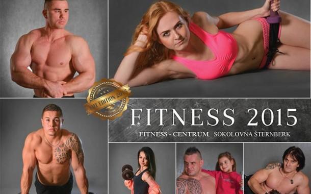 Nástěnný kalendář Fitness centra v Sokolovně