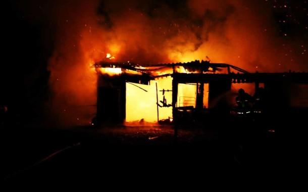 Velký požár v Bělkovicích – Lašťanech
