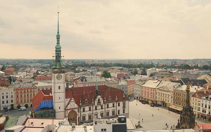 Tip na výlet – Olomouc, vyhlídková věž v Chrámu Sv. Mořice