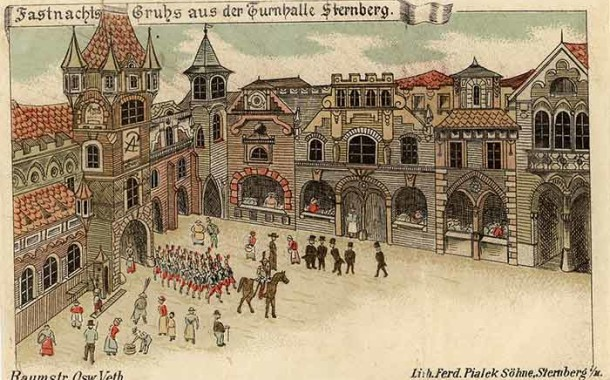Posílejte pohlednice Šternberka