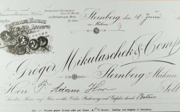 Gröger, Hermann –  majitel textilní továrny a přední odborník na barvení suken ve Šternberku