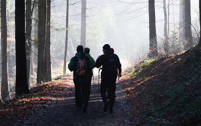 Šternberští turisté: Huzová – Šternberk levou zadní