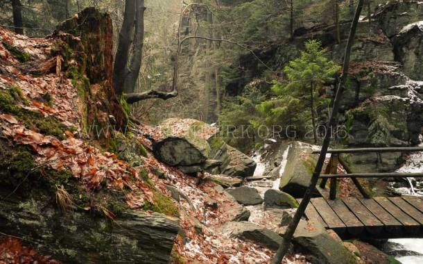 Cesta do pohádky: Rešovské vodopády