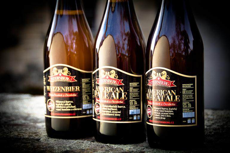 Pivo STERNBERG – pravý Šternberk ze Šternberka – k dostání ve Sportbar66