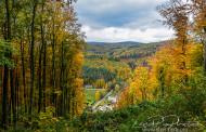 Podzim nad Žlebem