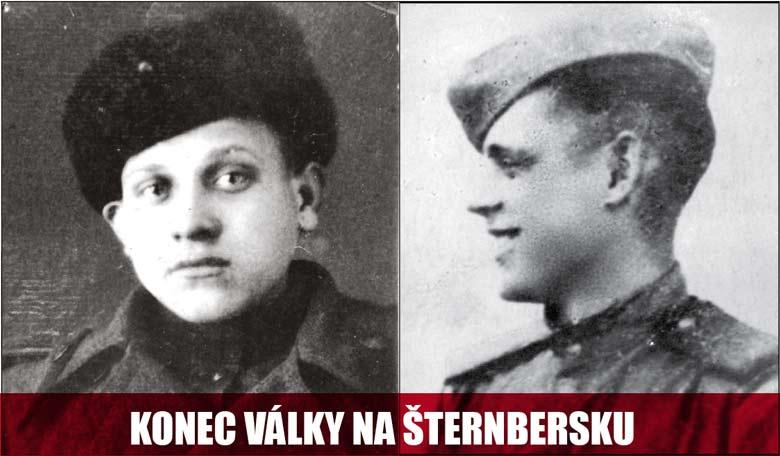 Osvobození města Šternberka sovětskou armádou