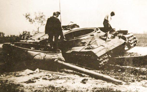 Osvobození Hnojic Rudou armádou dne 6. května 1945