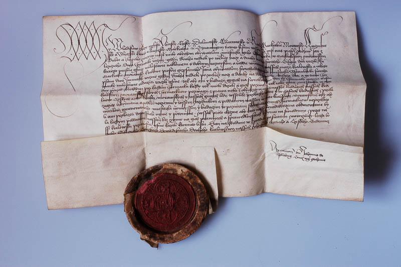 Rok první zmínky o městě Šternberk pochází pravděpodobně z falzifikátu