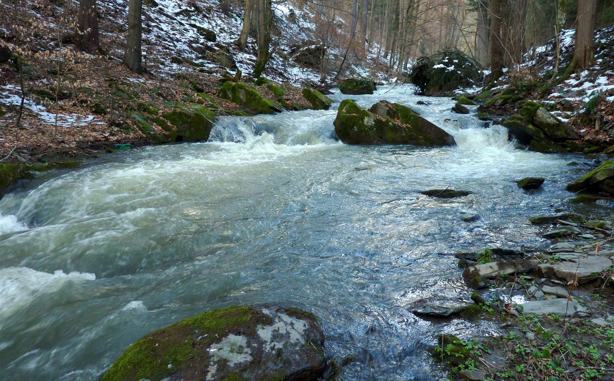 Řeka Sitka