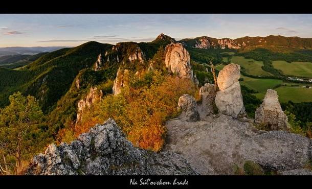 Ráj pro milovníky přírody, turistiky i fotografování: Súľovské vrchy