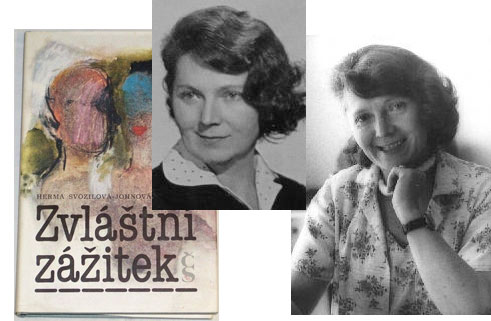 Spisovatelka Herma Svozilová-Johnová – vzpomínky na Šternberk